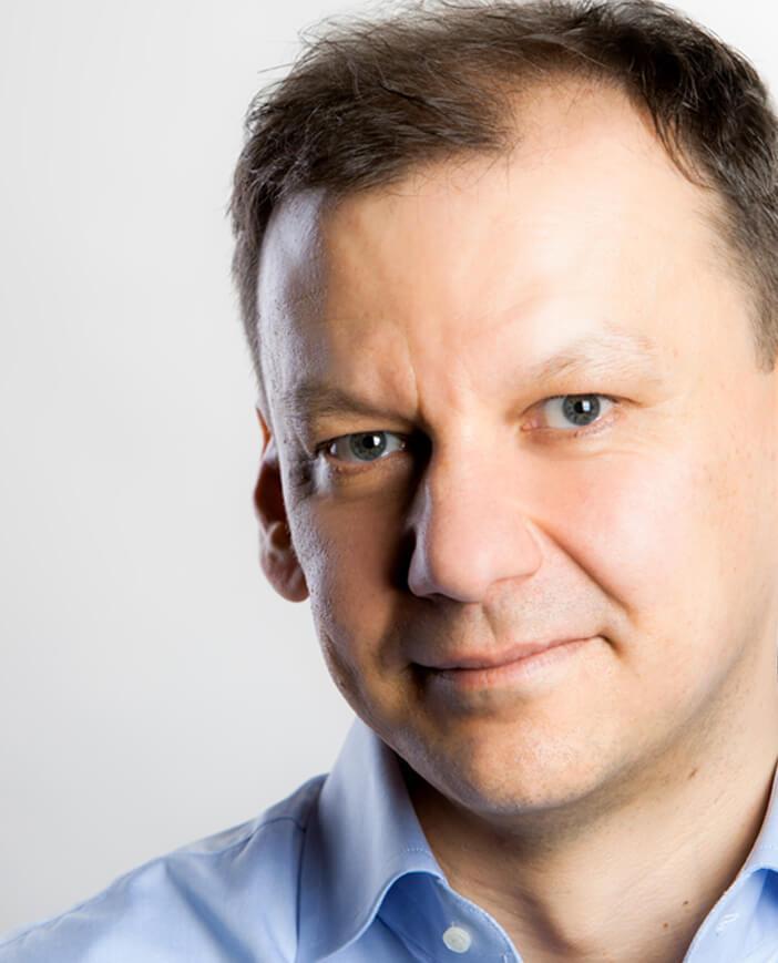 coach biznesowy Maciej Wiśniewski